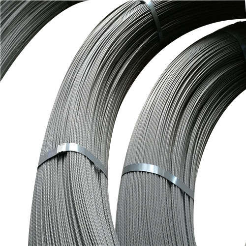 Low relaxation steel PC strand